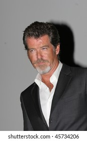 DEAUVILLE, FRANCE - SEPTEMBER 02:  Pierce Brosnan arrives at the opening gala night of the 31st  Deauville Film Festival where the movie 'The Matador'  was shown on September 2, 2005 in Deauville, France