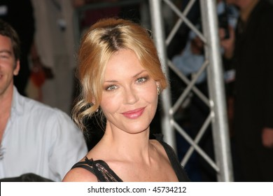 DEAUVILLE, FRANCE - SEPTEMBER 03: Actress Connie Nielsen arrives for the premiere of The Ice Harvest at the 31st Deauville Festival Of American Film on September 3, 2005 in Deauville, France