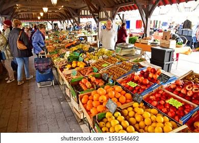 Deauville, France - september 27 2019 : vegetable at the market