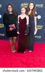 Deborah Joy Winans, Merle Dandridge, Desiree Ross (L-R) attends the 33rd Annual Stellar Gospel Music Awards at the Orleans Arena on March 24th, 2018 in Las Vegas, Nevada - USA