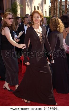DEBRA MESSING 2002 Emmy Awards Los Stock Photo Edit Now 94269541
