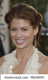 DEBRA MESSING at the Golden Globe Awards at the Beverly Hills Hilton Hotel. 19JAN2003.  Paul Smith / Featureflash