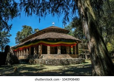 Debre Berhan Selassie Church in Gondar, Ethiopia