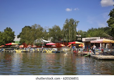 DEBRECEN. HUNGARY. 14 AUGUST 2012 : Naderde park in Debrecen. Hungary