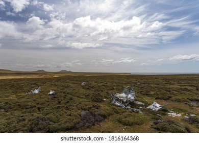 Debris from the Falklands war, Falkland Islands