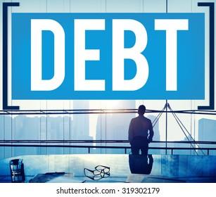 Debt Obligation Credit Finance Debit Concept