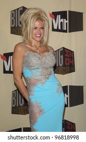 Dec 1, 2004; Los Angeles, CA: Actress/model ANNA NICOLE SMITH at the VH1 Big in '04 Awards at the Shrine Auditorium, Los Angeles.