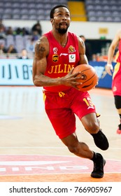 Dec 1, 2017 - Beijing, China: Former NBA player Von Wafer of Jilin during a CBA game between Beijing Fly Dragons and Jilin, on December 1, 2017, in Beijing, China.