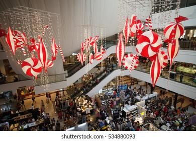 Dec 10,2916 Christmas bazaar at Makati Glorietta, Manila , Philippines