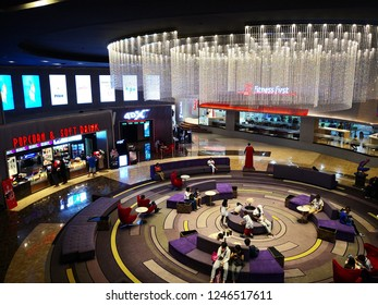 DEC 1,2018 - NAKHON RATCHASIMA, THAILAND : Korat Cineplex is a theatre of Major Cineplex Group. This theatre is a first branch in Nakhon Ratchasima. It's situation in The Mall Shopping Center.