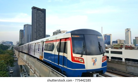 Dec 14, 2017 Bangkok Thailand : TheBangkok Mass Transit System, commonly known as theBTSor theSkytrain. Take picture from Mo Chit Station.