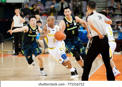 Dec 9, 2017 - Beijing, China: Fomer NBA player Stephon Marbury during a CBA game between Beijing Fly Dragons and Guangdong, on December 9, 2017, in Beijing, China.