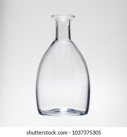Decanter in the light.