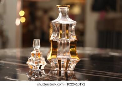 Decanter, set , crystal wine holder, crystal crockery, glassware