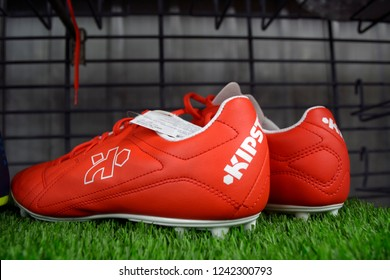 Decathlon, Howrah, India-Nov 25 2018: Decathlon is the largest French sporting goods retailer in the world where you get all varieties of Sports shoes at best price..