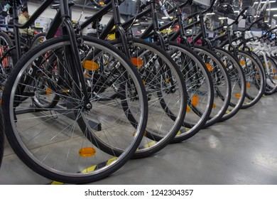 Decathlon, Howrah, India-Nov 25 2018: Decathlon is the largest French sporting goods retailer in the world where you get all kind of sports cycles.
