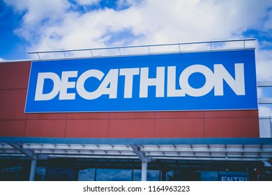 Decathlon store in Saint-Quentin (France), the 23/08/2018