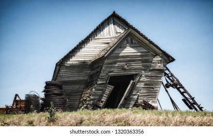 Decaying old house