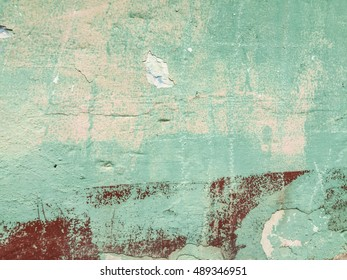 Decaying wall textures in Mexico