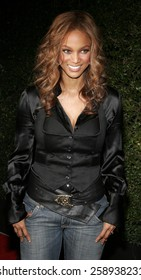 December 12, 2005. Tyra Banks attends the Producers World Premiere at the Westfield AMC Theatres in Century City, California United States.