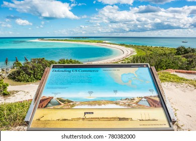 December 12, 2017: Florida, USA: Dry Tortugas National Park.  Dry Tortugas National Park was established by an act of Congress in 1992.