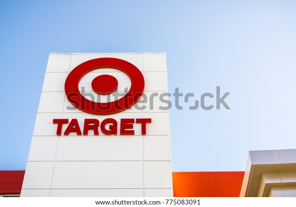 December 14, 2017 Sunnyvale / CA / USA - Target Logo on the local store facade