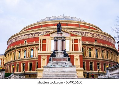December 18, 2015, Royal Albert Hall, London, England.  Royal Albert Hall of Arts and Sciences opened in 1871.