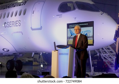 December 18, 2015-Mirabel Canada: Canadian Federal Transport Minister announces certification of the Bombardier C Series Jet. September 26, 2017 the United States  imposed a 220 per cent on the import