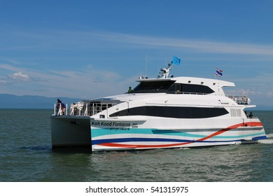 December 18, 2016 : BOONSIRI HIGH SPEED FERRIES offer our customers with high speed catamaran cruise via various routings in Trat area: Koh Mak, Koh Kood and Trat (Laem Sok Pier), Trat, Thailand