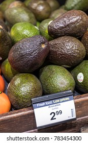 DECEMBER 20, 2017 - LOS ANGELES, CALIFORNIA: The Thomas Fire damaged groves of avacado trees in Venture and Santa Barbara counties. Expect the price of avacados to skyrocket.