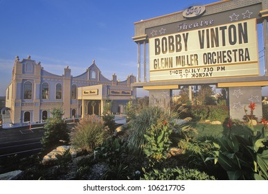 DECEMBER 2004 - Ozark Mountain Entertainment center, Bobby Vinton's Blue Velvet Theatre, Branson, MO