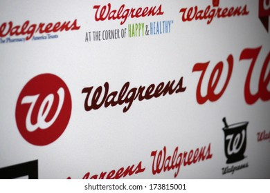 "DECEMBER 2013 - BERLIN: the logo of the brand ""Walgreens""."