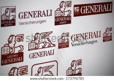 December 2013 Berlin Logo Brand Generali Stock Photo Edit Now