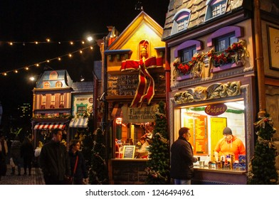 December in 2014, Christmas Markets in German cities - Düsseldorf, Dortmund, and Essen