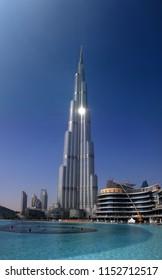 DECEMBER 2017 - DUBAI: the tallest building in the world, the Burj al Khalifa.