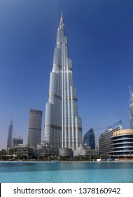 DECEMBER 2017 - DUBAI: the tallest building in the world, the Burj al Khalifa, Downtown, Dubai.