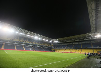 December 23, 2014 at Sukru Saracoglu Stadium in Istanbul, Turkey Cup match with Fenerbahce faced Altınordu'yl was separated from a 1-1 equality.Fenerbahçe stadium is empty stands.