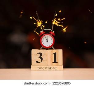 December 31st Calendar Images Stock Photos Vectors Shutterstock