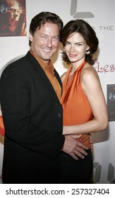 December 4, 2006. John Allen Nelson and Justine Ayre attend the '24' Season Five DVD Release held at the Les Deux in Hollywood, California United States.