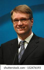 DECEMBER 5, 2005 - BERLIN: Roland Pofalla during a press conference in the Konrad Adenauer House in Berlin.