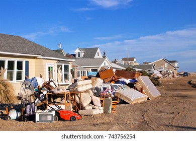 December 5, 2012 - Ortley Beach, NJ, USA: A month after Superstorm Sandy, Ortley Beach has yet to recover.