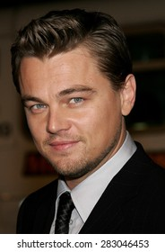 """December 6, 2006. Leonardo DiCaprio attends the Los Angeles Premiere of """"Blood Diamond"""" held at the Grauman's Chinese Theatre in Hollywood, California United States."""