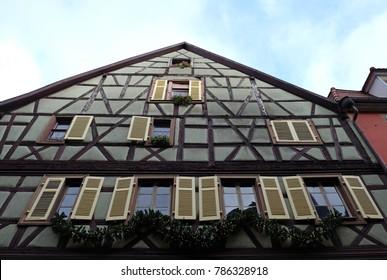 December in Colmar, Alsace. France
