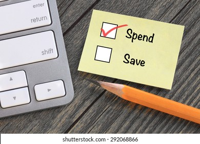 decision to spend versus save, concept of financial planning