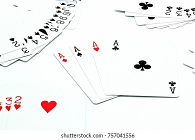 deck of cards on the table 4