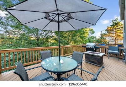 Deck Decor Exterior Residential Real Estate