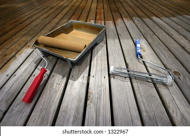 Deck Painting tools