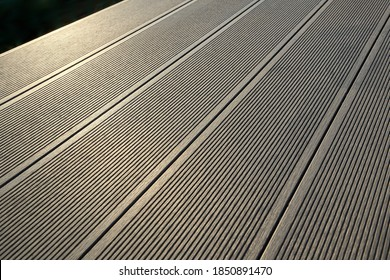 Deck planks of wpc composite material