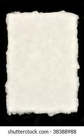 Deckle Edged Paper