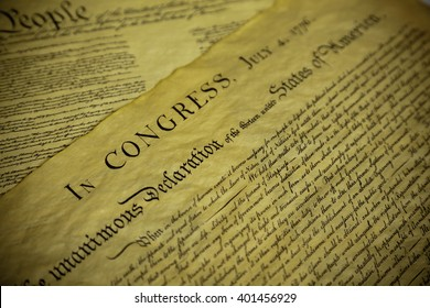 The Declaration of Independence and Constitution of the United Sates of America